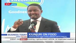 Agriculture Cabinet Secretary Mwangi Kiunjuri raises concerns over dangerous food