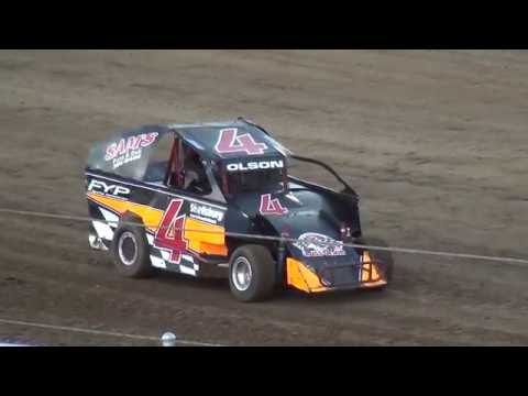 Albert Auto Night Indee Car Heats Independence Motor Speedway 9/17/16