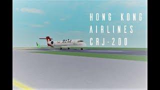 ROBLOX Hong Kong Airlines CRJ -200 FLIGHT