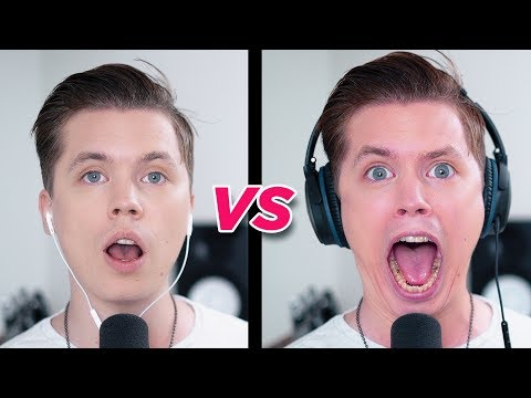 Thumbnail: SINGING while wearing NOISE CANCELLING HEADPHONES