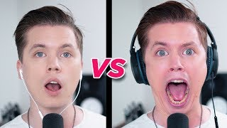 SINGING while wearing NOISE CANCELLING HEADPHONES thumbnail