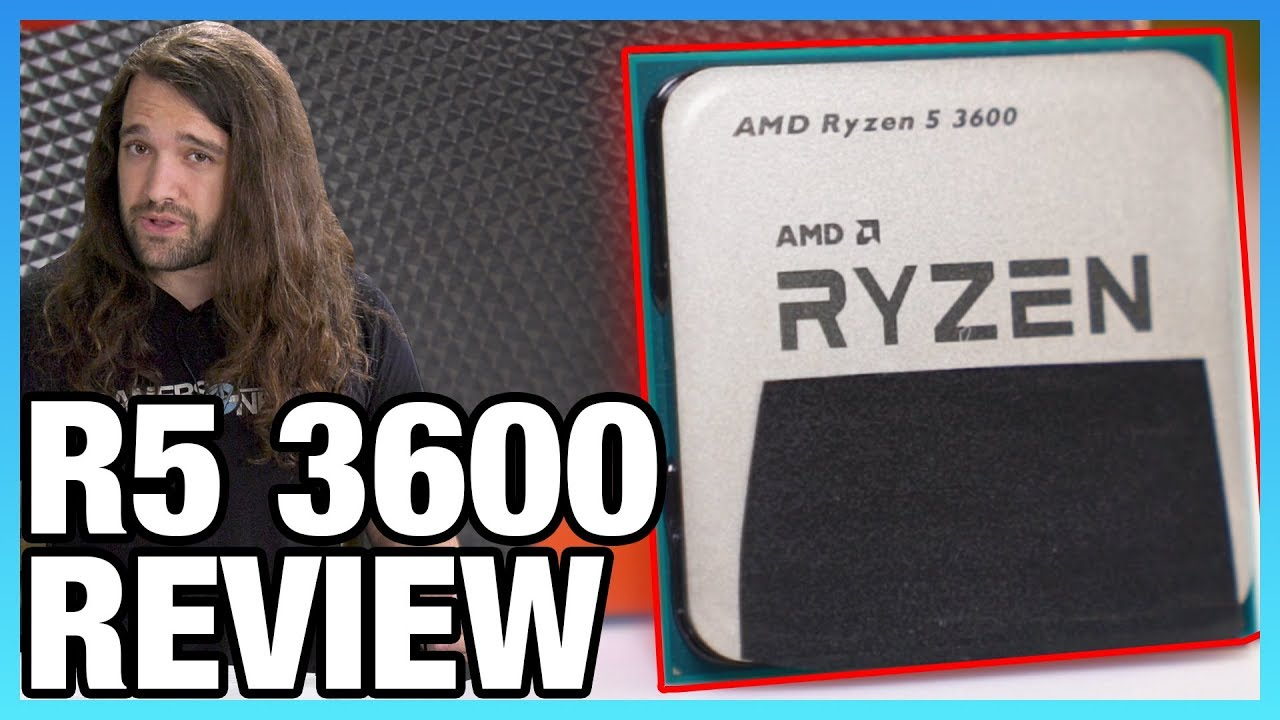AMD Ryzen 5 3600 CPU Review & Benchmarks: Strong Recommendation