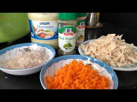 CHICKEN SPREAD SANDWICH RECIPE | CHICKEN WITH MAYO SPREAD | Chicken Sandwich Recipe