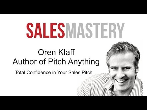 How to Sales Pitch - Sales Pitch Ideas & Examples -  Oren Kl