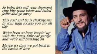 Waylon Jennings - Luckenbach Texas with Lyrics