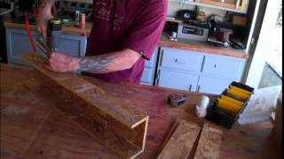 Diy/simple Mitre Saw Station From Osb.