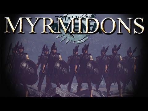 Myrmidons Premium Unit in Battle - Miltiades - Total War Arena