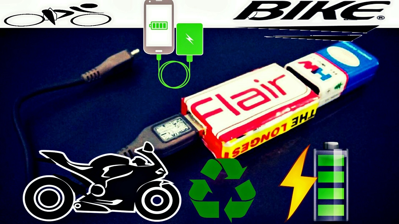 Hindi How To Make A 2 In 1 Bike Mobile Charger With Circuitdiagram Cell Phone Detector Circuit Diagram Circuitschematic Electric 2nd Sunday Project 9 Volt