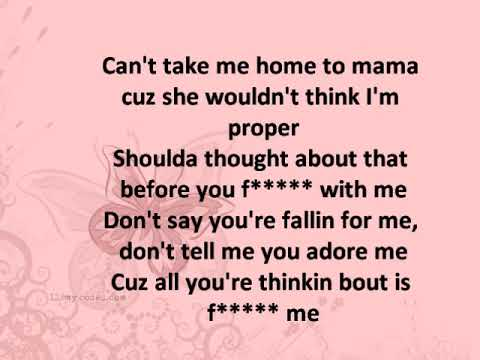Pink can't take me home (lyrics)