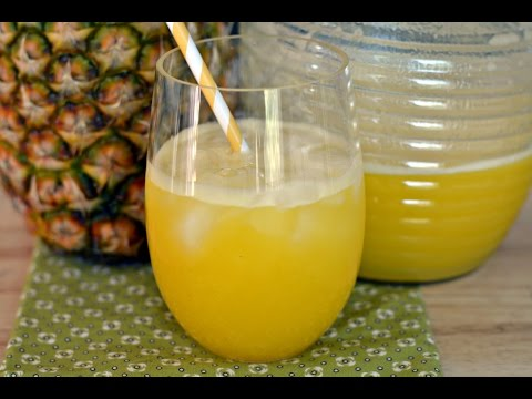 Recipe For Pineapple Juice - How To Make Pineapple Juice - SyS
