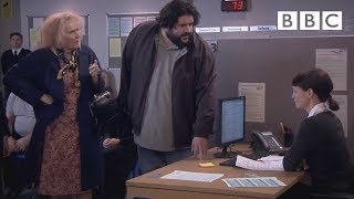 Nan's council office protest - Catherine Tate's Nan: Preview - BBC One