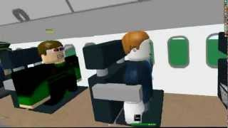 ROBLOX- JetEire Flight Gallway To Mayford FIRST CLASS!