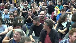LIVE: Protests against jailing of Catalan independence leaders continue in Barcelona