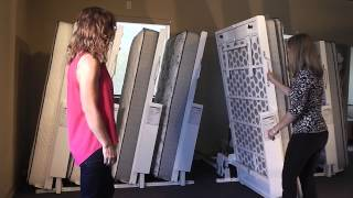 RoyRack Mattress Rack Display System Demonstration