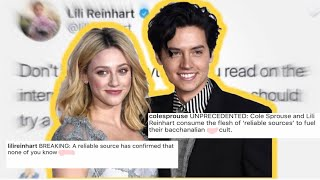 LILI REINHART and COLE SPROUSE adress breakup rumors AGAIN