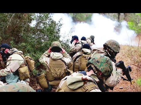 US Marines CBRN (Chemical, Biological, Radiological and Nuclear) Defense Training
