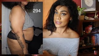 VSG: I LOST 100 POUNDS in 6 MONTHS! Stats, pics, skin, and more!!