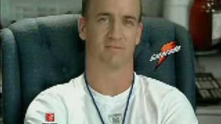 Peyton Manning - Gatorade Commercial