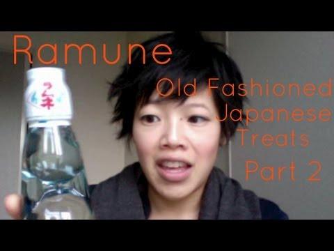 Drinking Ramune & Old Fashioned Japanese Treats Pt. 2 - Whatcha Eating? #47
