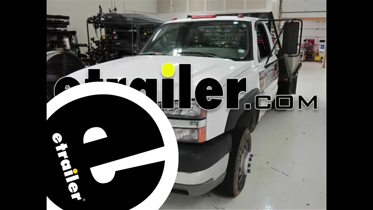 Installation Of A Trailer Brake Controller On A 2004 Chevrolet Silverado - Etrailer Com