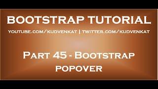Bootstrap popover thumbnail