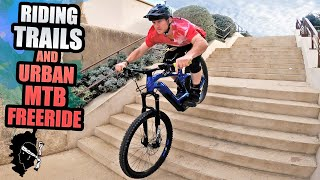 RIDING NEW BIKES ON SICK TRAILS AND URBAN MTB FREERIDE LINES