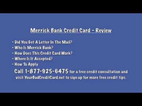 merrick bank credit card youtube. Black Bedroom Furniture Sets. Home Design Ideas