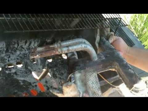 Convert Gas Grill To Charcoal Wood Smoker
