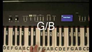 Justin Bieber Common Denominator - Piano Tutorial.wmv