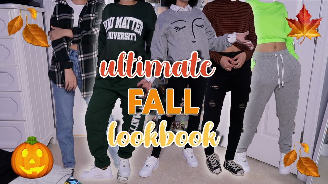 [VIDEO] - 10 Fall Outfits *That Are In Dresscode*   2019 Fall Lookbook   aliyah simone 2