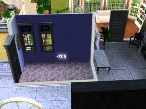 Sims3: Ich richte meine Badezimmer ein xD - YouTube