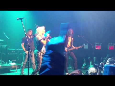 "Doro w/Bobby Blitz Ellsworth, ""Always Live to Win"""