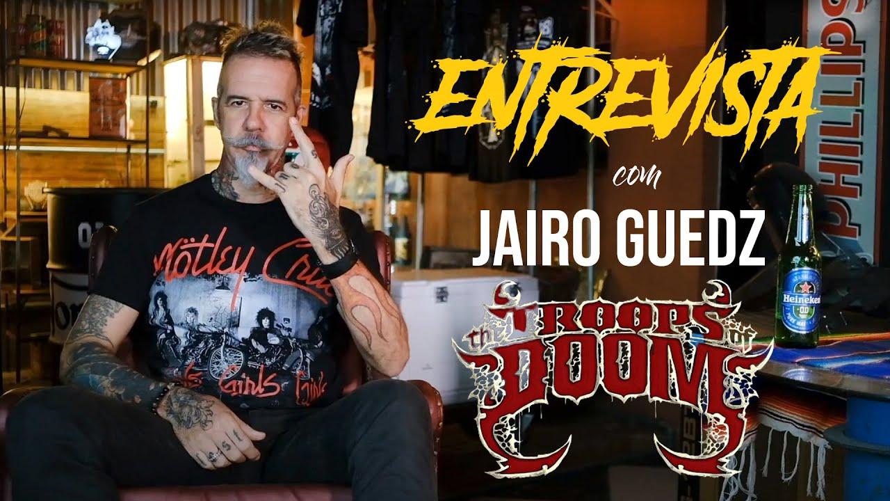 THE TROOPS OF DOOM | Entrevista com Jairo Guedz | Goblin TV | With Subtitles