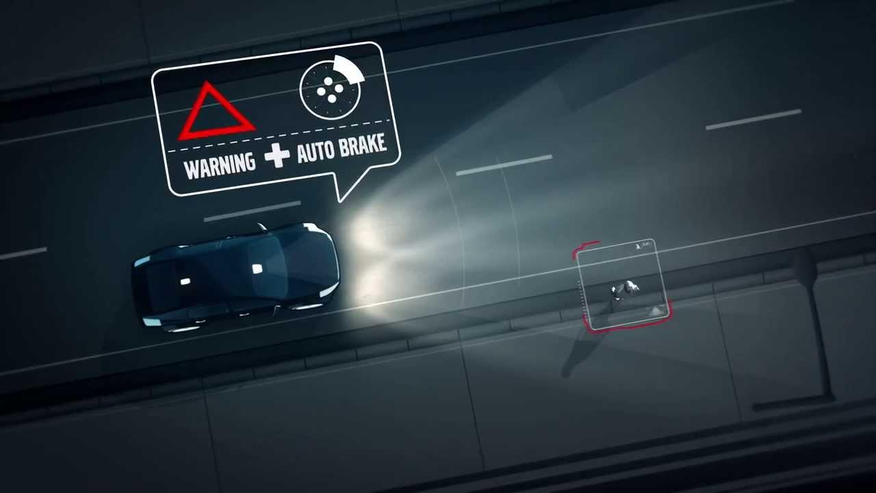 「自動ブレーキ 夜間」の画像検索結果