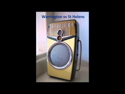 Warrington Wolves RLFC vs St Helens RLFC  (Radio)