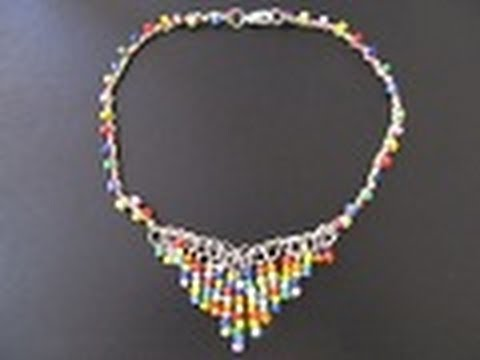 ae8f59079084 Bisuteria  Collar Estilo Artesanal   Colección HIPPIE CHIC   - YouTube