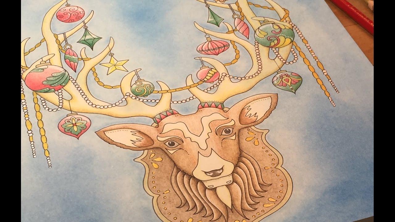 Johanna\'s Christmas Stag Tutorial Part 2 - YouTube