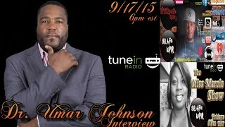 Dr Umar Johnson Interview: The Change Of Black America on WPIR 98.4Fm