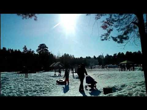 Как отдохнуть в солнечной поляне. Парковый, Пермь.