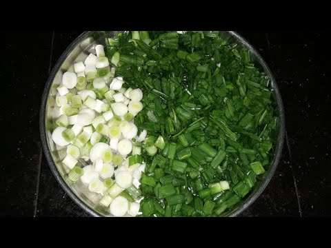 ଏମିତି ପିଆଜ ଶାଗ କୁ ତିଆରି କରି ଦେଖନ୍ତୁ / Piaaja saga recipe / Potato Spring onion Recipe / Odia