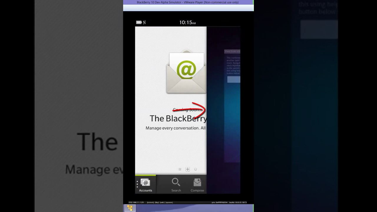 Ported Android Application running to BlackBerry 10 dev Alpha Sim