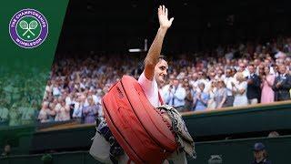 Roger Federer vs Adrian Mannarino 4R Highlights   Wimbledon 2018