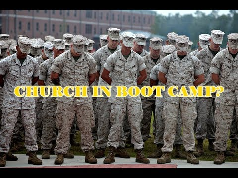 Typical Sunday In Boot Camp