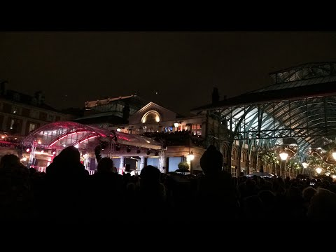 London Covent Garden Christmas Lights 2017 Switch On Live