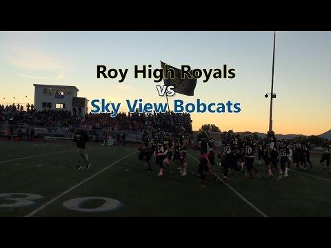 High School Football - Roy High vs Sky View - Highlights