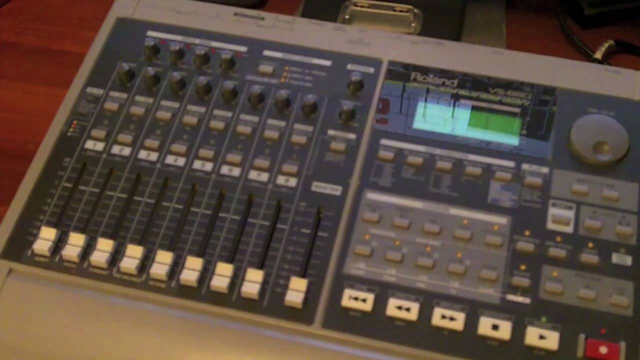 the roland vs 880 part 1 youtube rh youtube com roland vs 880 specifications roland vs 880 service manual