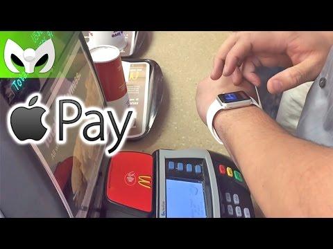 Comprando en McDonald's con #AppleWatch (#ApplePay)