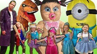 Kids Costume Runway Show!! Top Halloween Family Dress Up Ideas