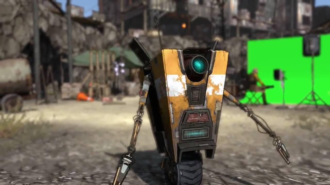 Borderlands робот