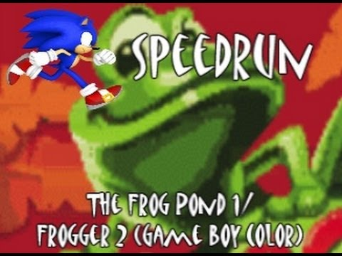 Frogger 2 (Game Boy Color) Speedrun-The Frog Pond/Level 1 In 15.1